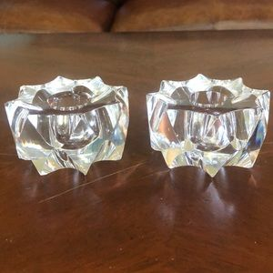 Crystal Candle -Stick Holders